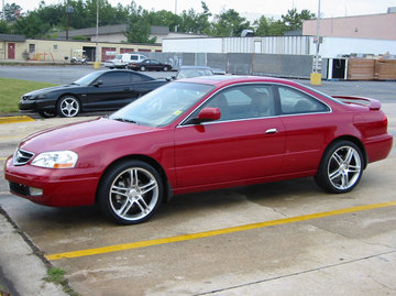 Acura CL with 19in Axis Muse Wheels