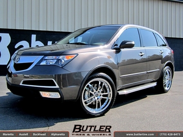 Acura MDX with 20in TSW Cadwell Wheels