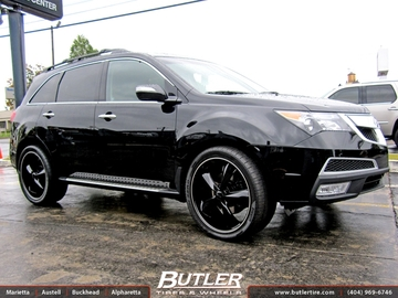 Acura MDX with 22in Foose Legend Wheels