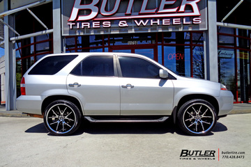 Acura MDX with 22in Lexani R-Twelve Wheels