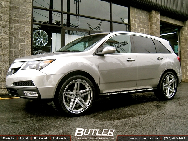 Acura MDX with 22in Lexani R-Five Wheels