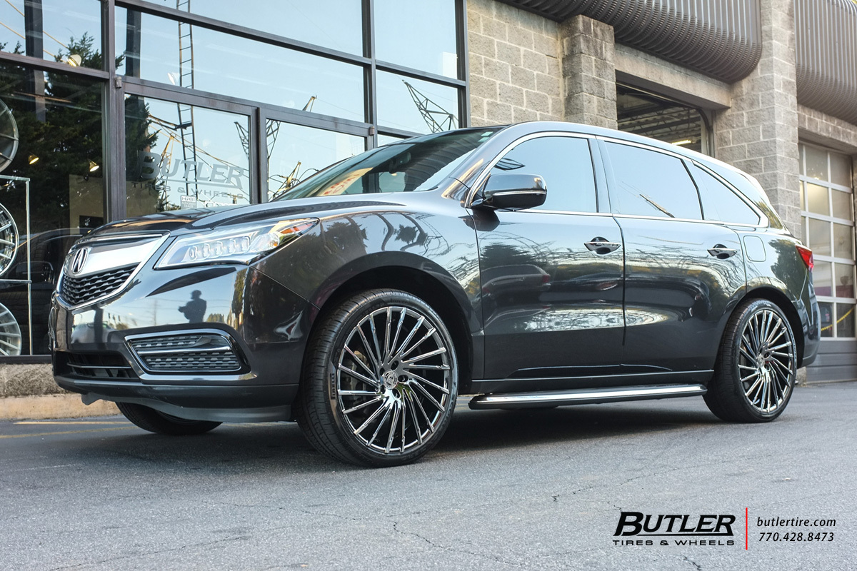 Acura Mdx Accessories >> Acura MDX with 22in Lexani Wraith Wheels exclusively from ...