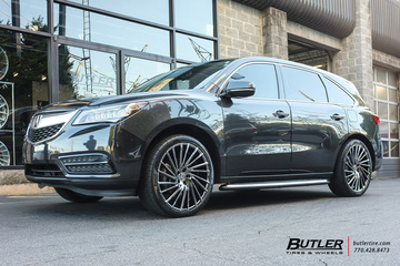Acura MDX Vehicle Gallery At Butler Tires And Wheels In Atlanta GA - Acura mdx tires