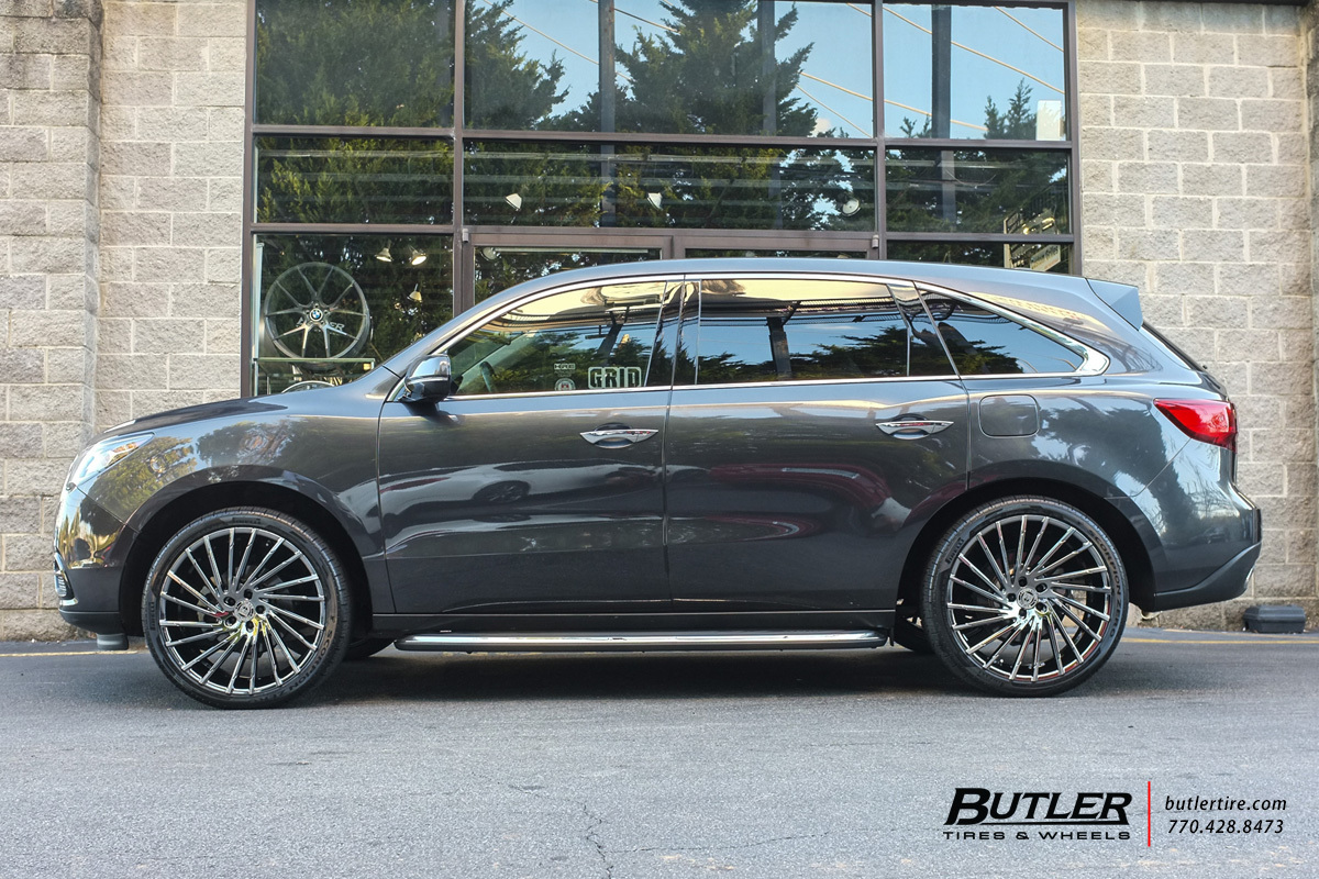 Acura Mdx With 22in Lexani Wraith Wheels Exclusively From