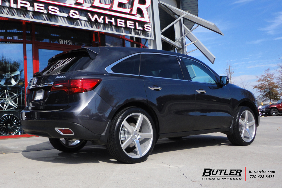 Acura MDX With In Niche Milan Wheels Exclusively From Butler Tires - Acura mdx wheels