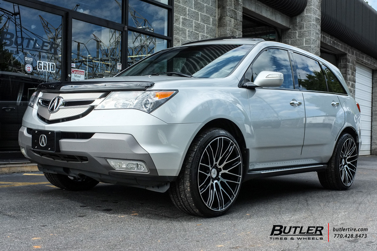 acura mdx with 22in savini bm13 wheels exclusively from. Black Bedroom Furniture Sets. Home Design Ideas