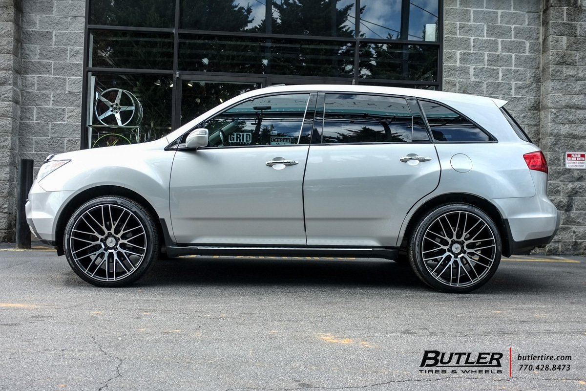 Acura MDX With In Savini BM Wheels Exclusively From Butler Tires - Tires for acura mdx