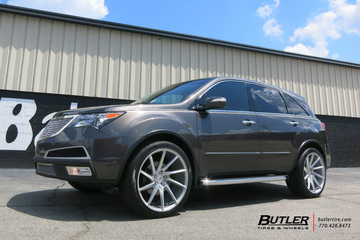 Acura MDX with 22in Savini BM15 Wheels