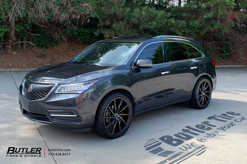 Acura MDX with 22in Vossen CVT Wheels