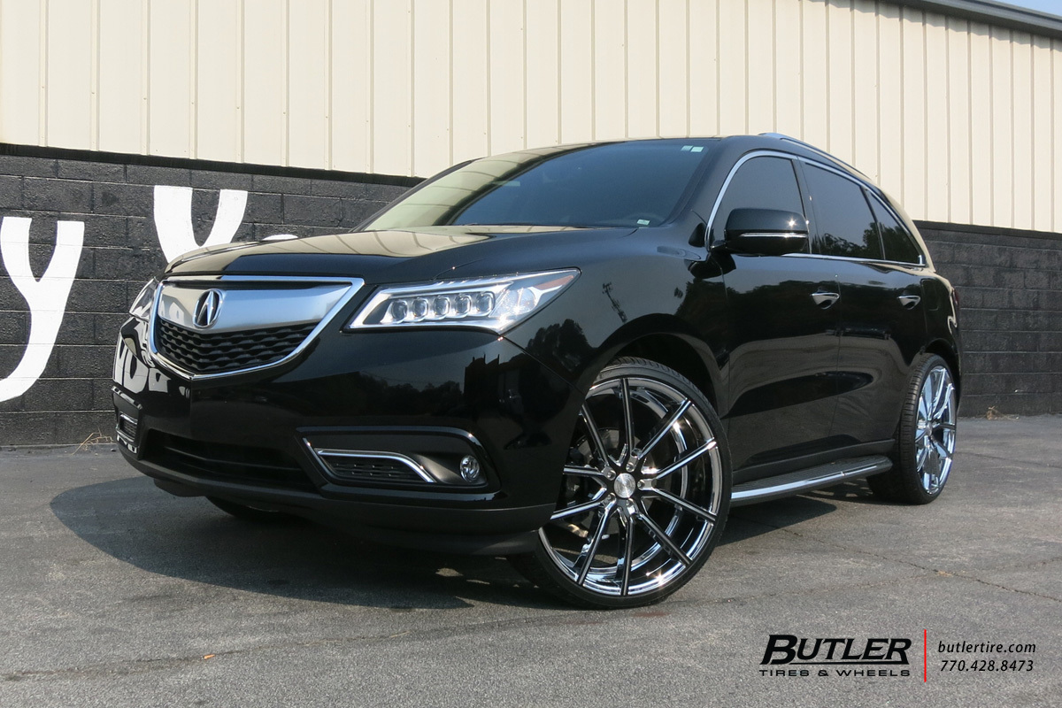 Acura MDX With In Lexani Gravity Wheels Exclusively From Butler - Acura mdx tires