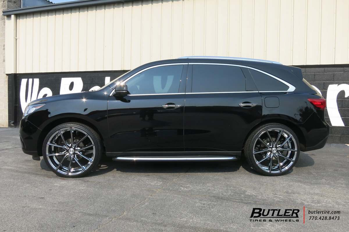 Acura Mdx With 24in Lexani Gravity Wheels Exclusively From