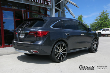 Acura MDX with 24in Lexani Gravity Wheels