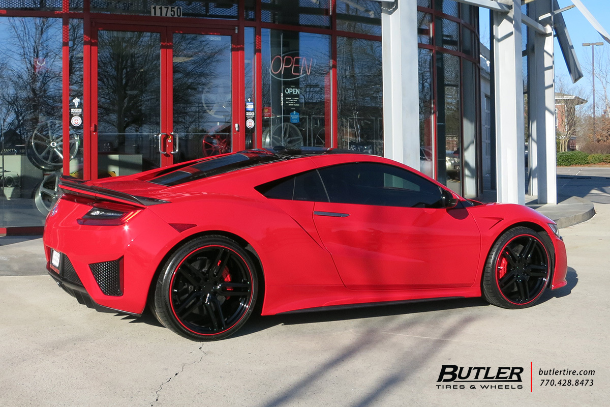 Acura NSX with 21in Vossen HF-1 Wheels