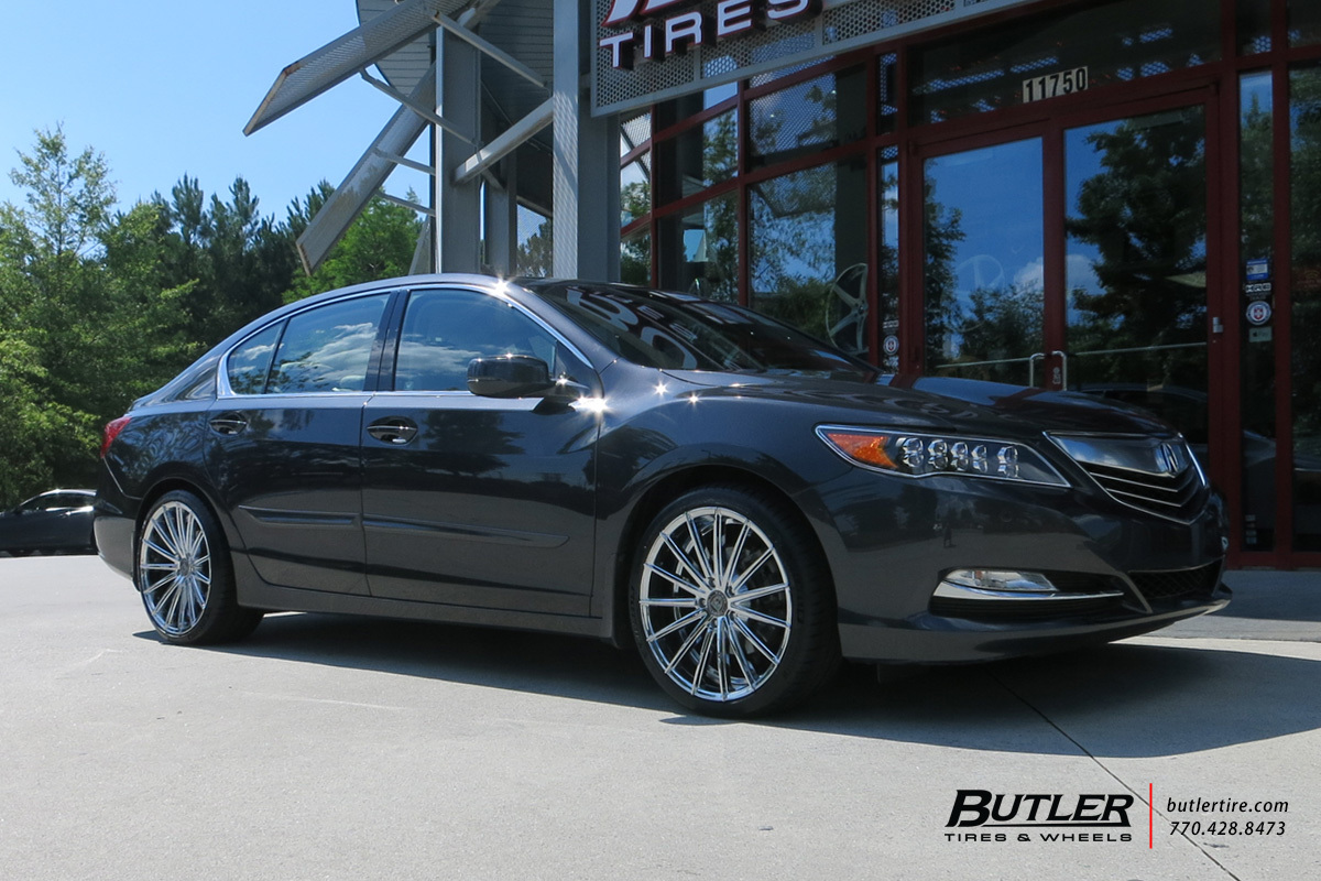 Acura RDX With In Lexani Pegasus Wheels Exclusively From Butler - Acura rdx tires