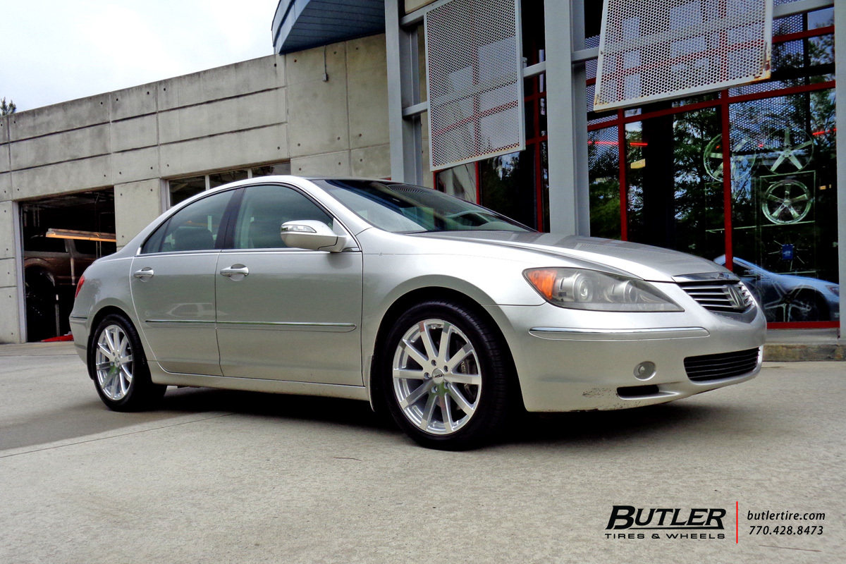 Acura RL With In TSW Brooklands Wheels Exclusively From Butler - Acura rl wheels