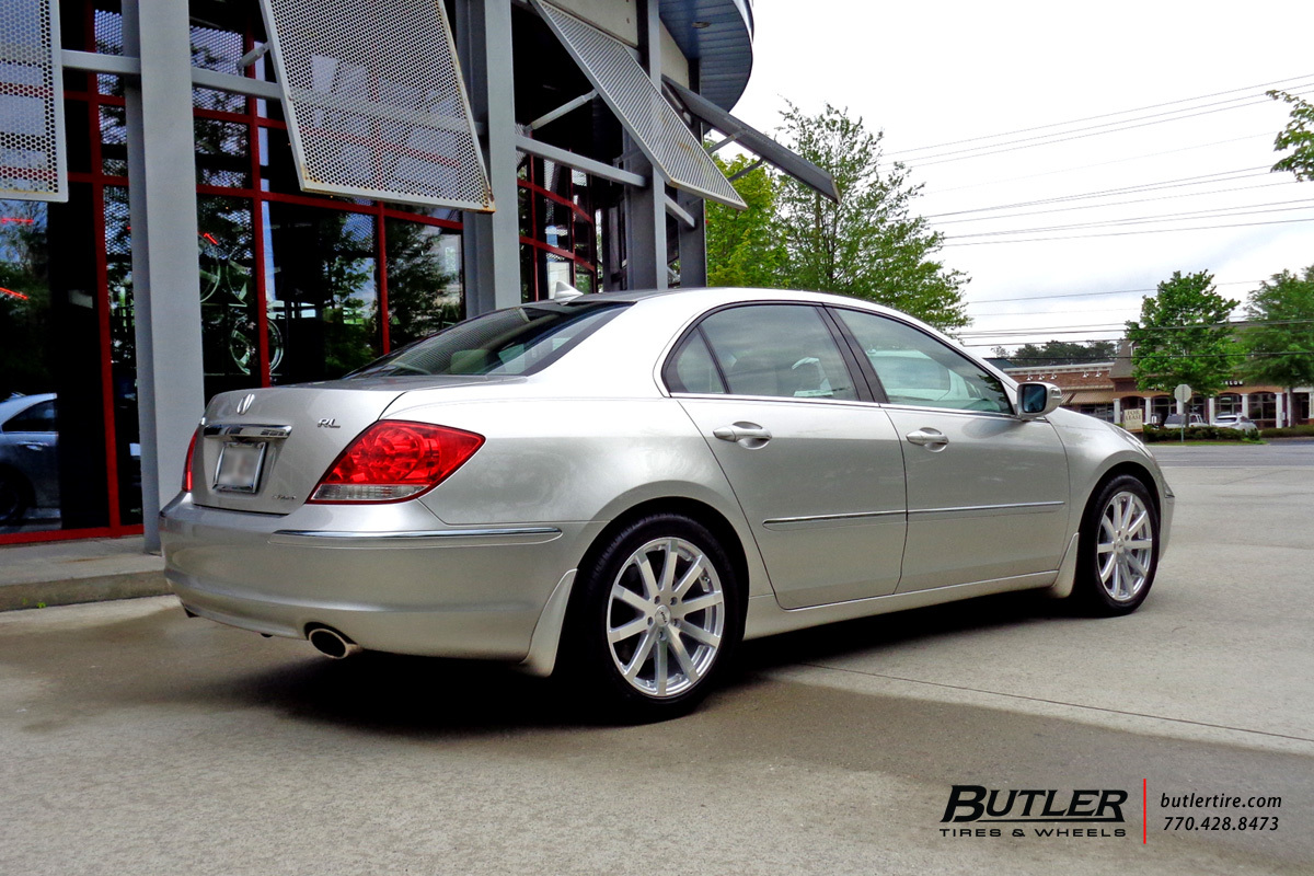 Acura RL with 18in TSW Brooklands Wheels