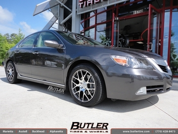 Acura RL with 18in TSW Nurburgring Wheels