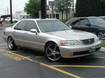 Acura RL with 19in Axis Hagen Wheels