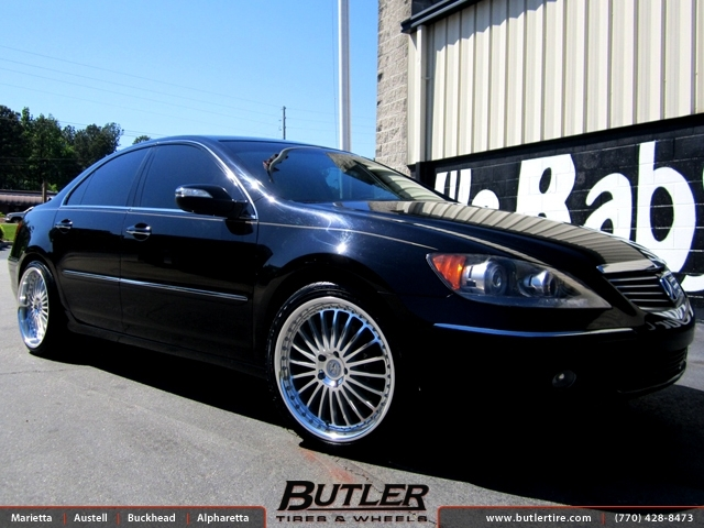 Acura RL with 20in TSW Silverstone Wheels