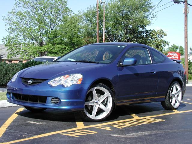 Acura RSX with 19in Axis Hagen Wheels