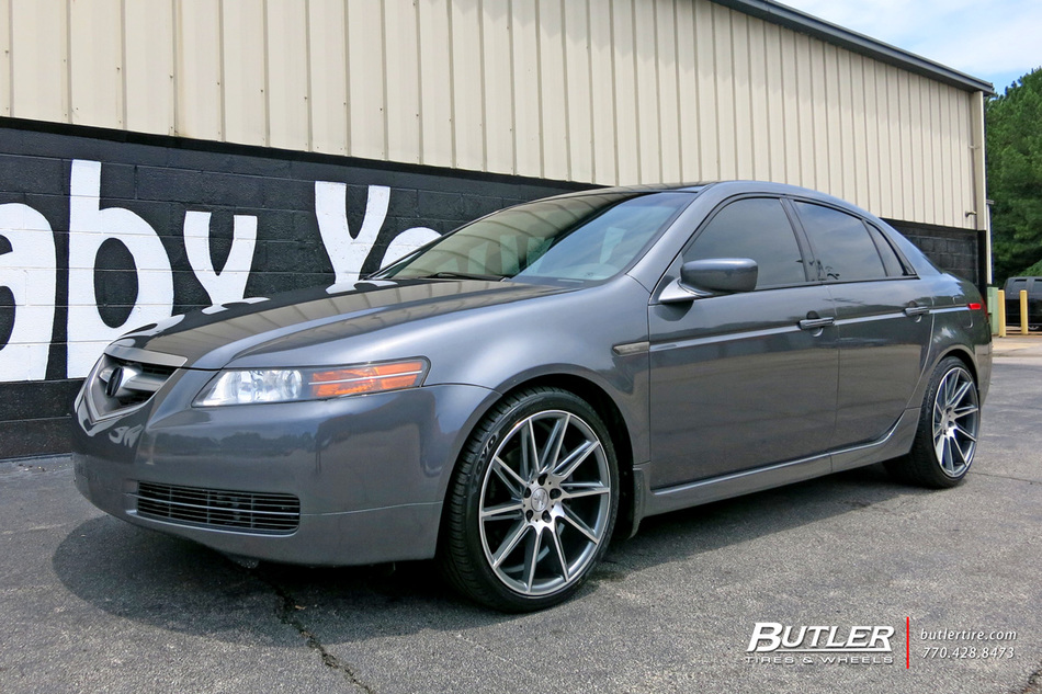 Acura Tl With 19in Verde Quantum Wheels Exclusively From