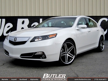 Acura TL with 20in Lexani R-Five Wheels