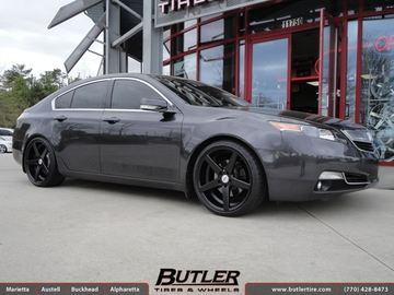 Acura TL with 20in TSW Sochi Wheels