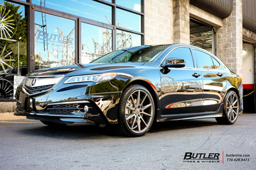 Acura TL Vehicle Gallery At Butler Tires And Wheels In Atlanta GA - Rims for acura tl