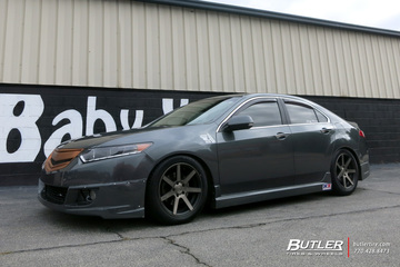 Acura TSX with 17in Niche Verona Wheels