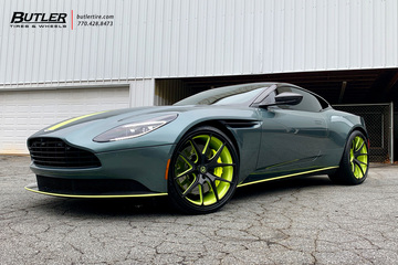 Aston Martin DB11 with 22in Avant Garde M580 Wheels