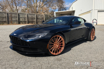 Aston Martin DB11 with 22in Avant Garde M615 Wheels