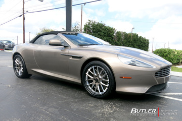 Aston Martin DB9 with 20in Savini SV39 Wheels