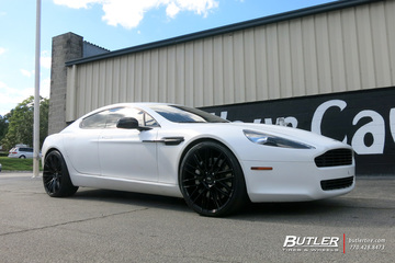 Aston Martin Rapide with 22in Savini BM13 Wheels