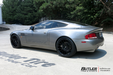 Aston Martin Vanquish with 20in Savini BM16 Wheels