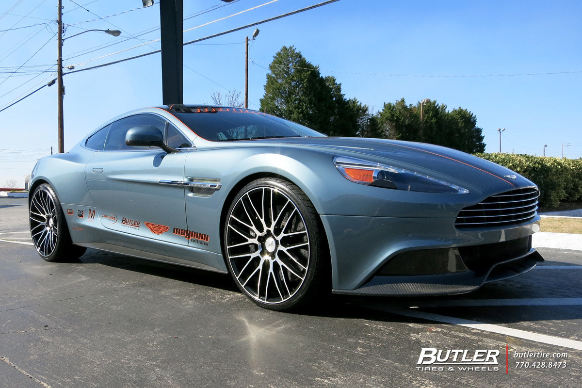 Aston Martin Vanquish with 22in Savini BM13 Wheels