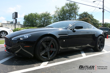 Aston Martin Vantage with 19in TSW Ascent Wheels