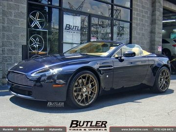 Aston Martin Vantage with 20in TSW Nurburgring Wheels