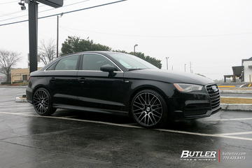 Audi A3 with 19in Savini BM13 Wheels