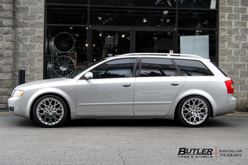 Audi A4 with 18in TSW Vale Wheels