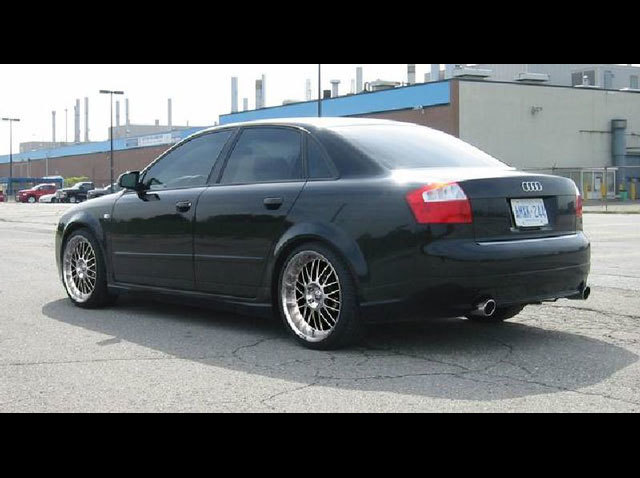Audi A4 with 19in Axis Se7en Mod Wheels