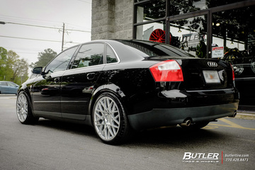 Audi A4 with 19in Rotiform BLQ Wheels