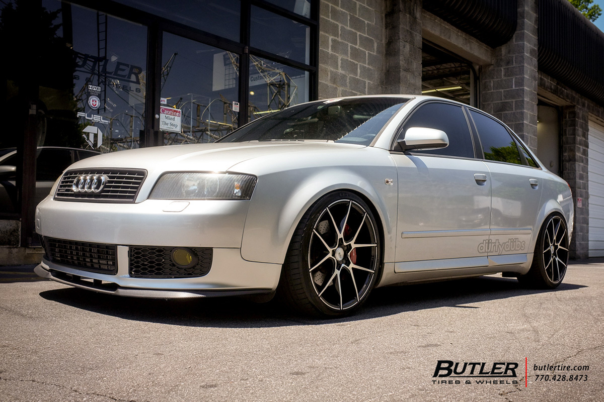 Audi A4 with 19in Savini BM14 Wheels