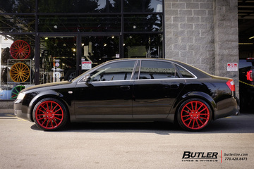 Audi A4 with 19in Savini BM9 Wheels
