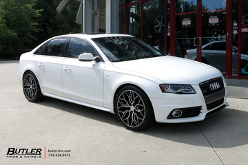 Audi A4 with 19in Vossen HF-2 Wheels