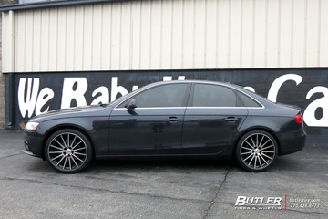 Audi A4 with 20in TSW Chicane Wheels