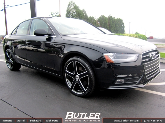 Audi Of Atlanta >> Audi A4 with 20in TSW Rivage Wheels exclusively from ...