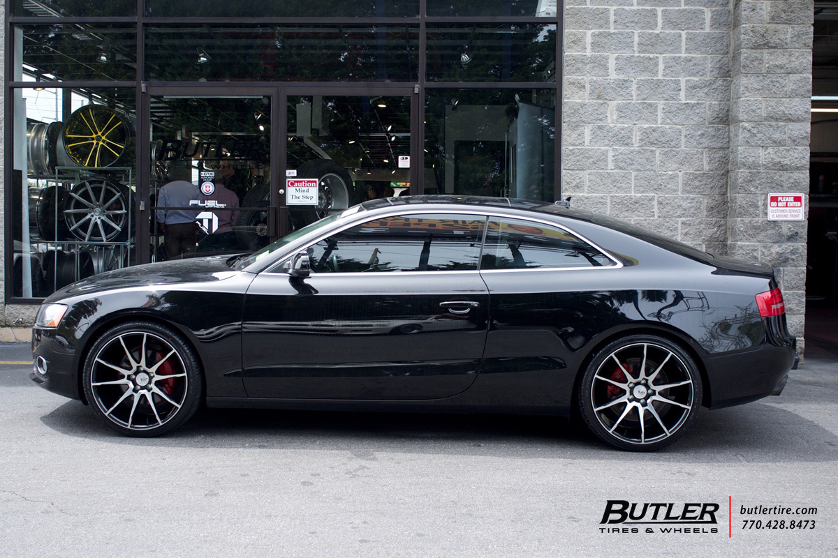 Audi A5 with 20in Savini BM12 Wheels