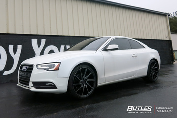 Audi A5 with 20in Savini BM15 Wheels