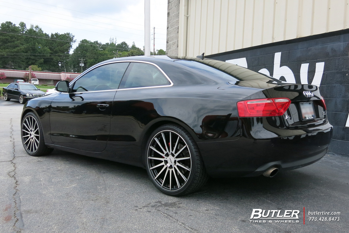 Audi A5 with 20in TSW Chicane Wheels