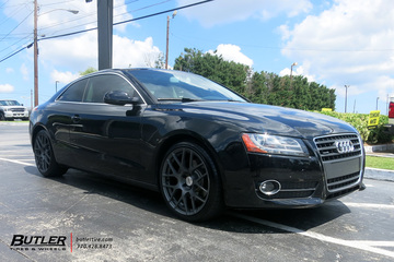 Audi A5 with 20in TSW Nurburgring Wheels